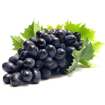 Schwarze Trauben
